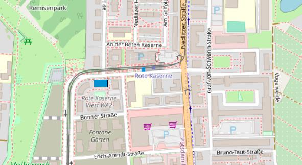 Die Akustikerin in Potsdam-Bornstedt: Hörgeräte am neuen Johan-Bouman-Platz gleich um die Ecke von Rewe, Penny und Rossmann.